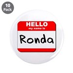 Hello my name is Ronda 3.5