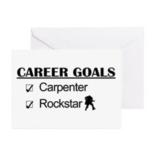 Carpenter Career Goals - Rockstar Greeting Cards (