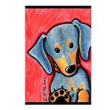 Dachsie Diva Postcards (Package of 8)