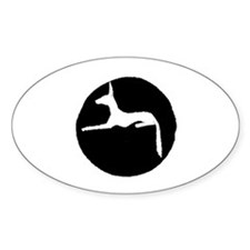 Oval Sticker (10 pk)