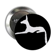 "Unique Pharaoh hound 2.25"" Button (10 pack)"