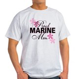 Proud Marine Mom T-Shirt