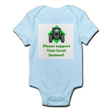 Please Support Your Local Far Infant Bodysuit