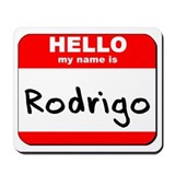 Hello my name is Rodrigo Mousepad