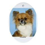 Chihuahua 9W092D-116 Ornament (Oval)