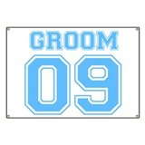 Groom 09 (Blue) Banner