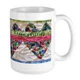 Floral Heart Mug