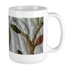 Carol's Floral Applique Coffee Mug