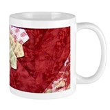 red & yellow fan Small Mug