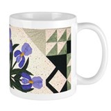 blue & purple iris Mug