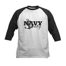 Navy baby Tee