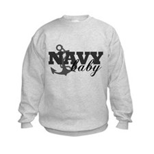Navy baby Sweatshirt