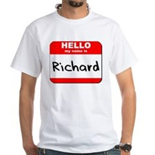 Hello my name is Richard Shirt