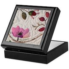 Wild Pink Rose Keepsake Box