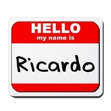 Hello my name is Ricardo Mousepad