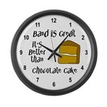 Band is Great Large Wall Clock