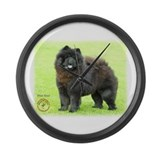 Chow Chow 9B008D-25 Large Wall Clock