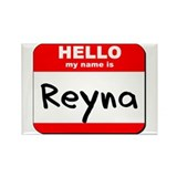 Hello my name is Reyna Rectangle Magnet (10 pack)