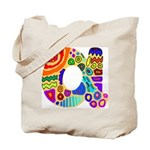 Monogram A Tote Bag