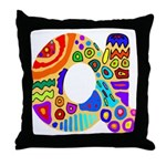 Monogram A Throw Pillow