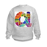 Monogram A Kids Sweatshirt