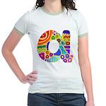 Monogram A Jr. Ringer T-Shirt