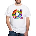 Monogram A White T-Shirt