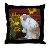 Funny Jersey wooly Throw Pillow
