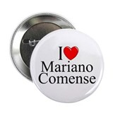 """I Love (Heart) Mariano Comense"" 2.25"" Button"