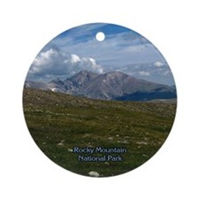Rocky Mountain National Park 01 - Ornament (Round)
