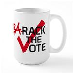 BaRack the vote Large Mug