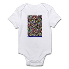 Find the normal guy Infant Bodysuit