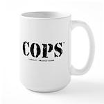 COPS Large Mug