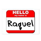 Hello my name is Raquel Postcards (Package of 8)
