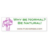 Five Horses Bumper Sticker (10 pk)