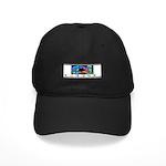 Monogram A Black Cap