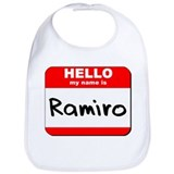 Hello my name is Ramiro Bib