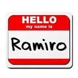 Hello my name is Ramiro Mousepad