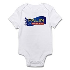 Palin for President Infant Bodysuit