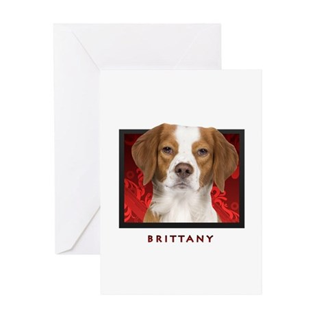Brittany Greeting Card