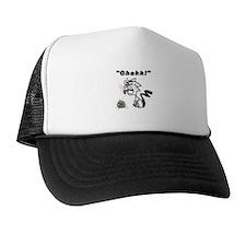Ghakk... It's a Hairball Trucker Hat
