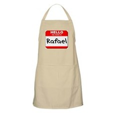 Hello my name is Rafael BBQ Apron