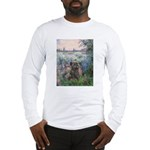 Seine/Cairn (brin) Long Sleeve T-Shirt
