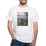 Seine/Cairn (brin) White T-Shirt