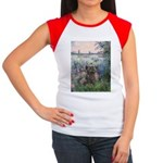 Seine/Cairn (brin) Women's Cap Sleeve T-Shirt