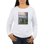Seine/Cairn (brin) Women's Long Sleeve T-Shirt