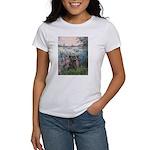 Seine/Cairn (brin) Women's T-Shirt