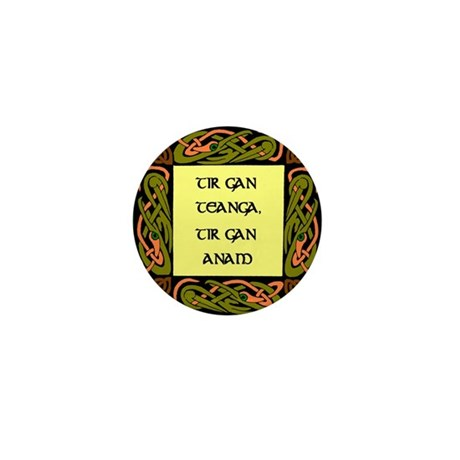 A country with out its langua Mini Button (10 pack