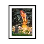 Midsummer/Cairn (brin) Framed Panel Print