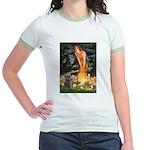Midsummer/Cairn (brin) Jr. Ringer T-Shirt